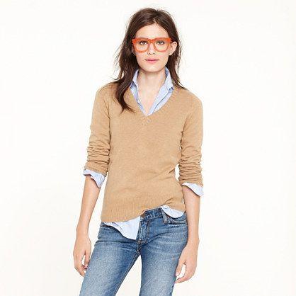 dream v-neck sweater ++ j.crew  518a0aca9