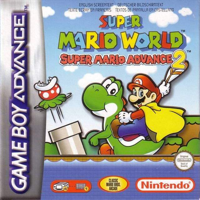 Download Super Mario World GBA ROM USA: Super Mario Advance
