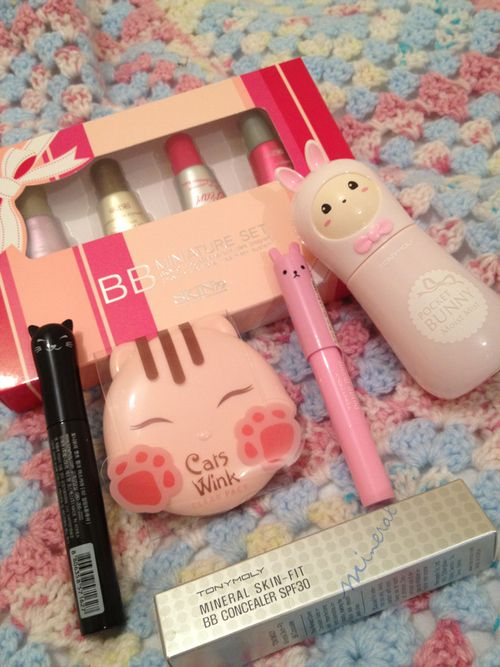 Japanese make up products