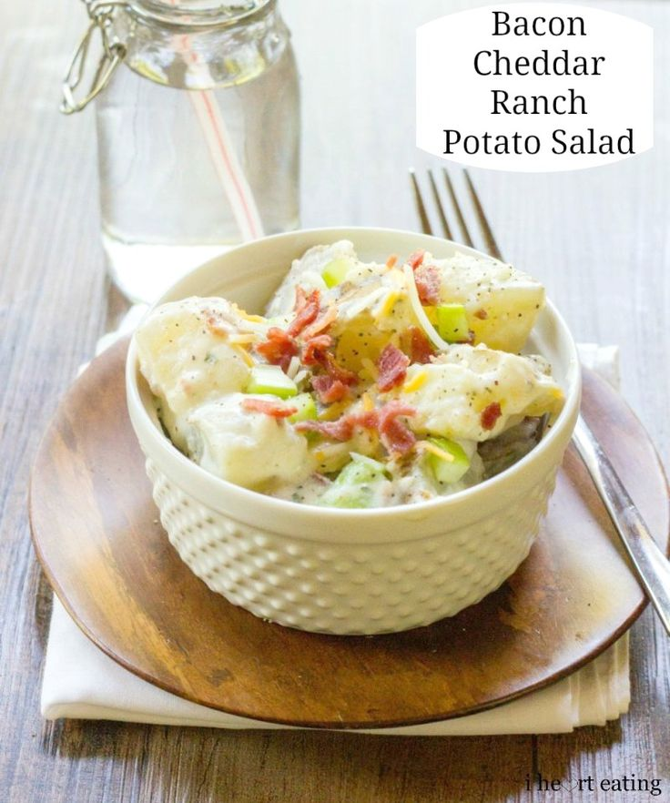 ... Salads on Pinterest | Salads, Ranch potato salad and Apple chutney