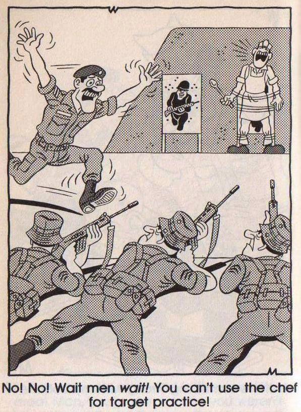 Ben & Babsie cartoon - South African Border War