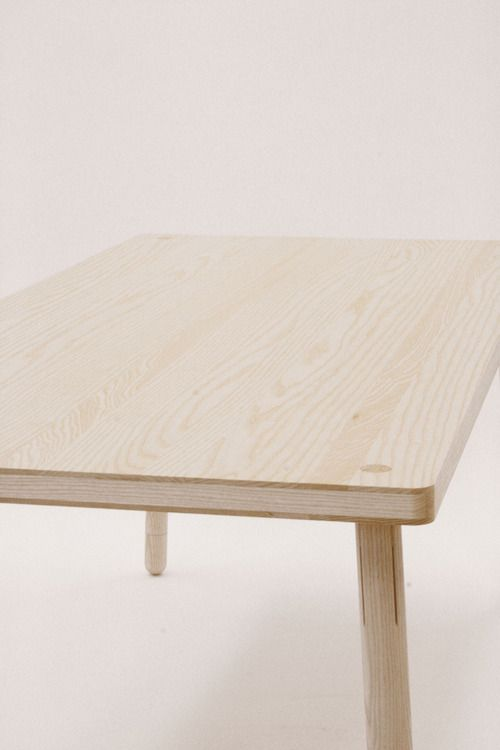 The 25 best plywood table ideas on pinterest cnc table for Plywood table hairpin legs