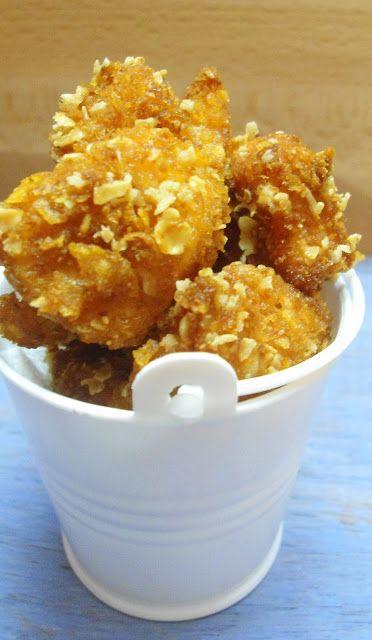 KFC Style Chicken Popcorn | Easy Homemade Chicken Popcorn - Babi 's Recipes