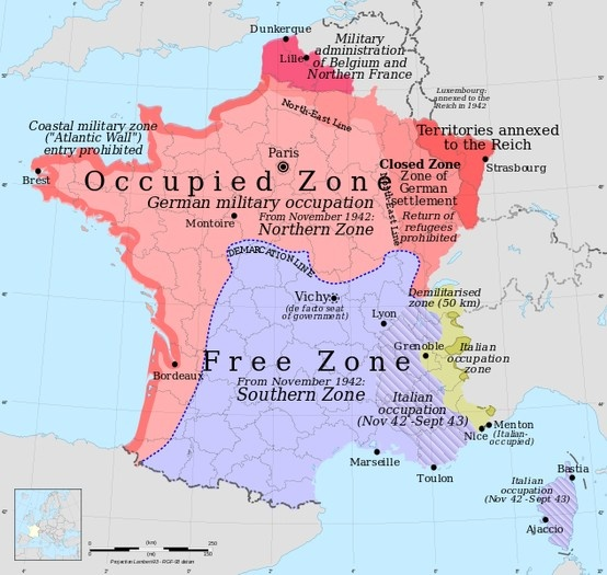 10 best French Resistance in World War II images on Pinterest - best of world war 1 map black and white