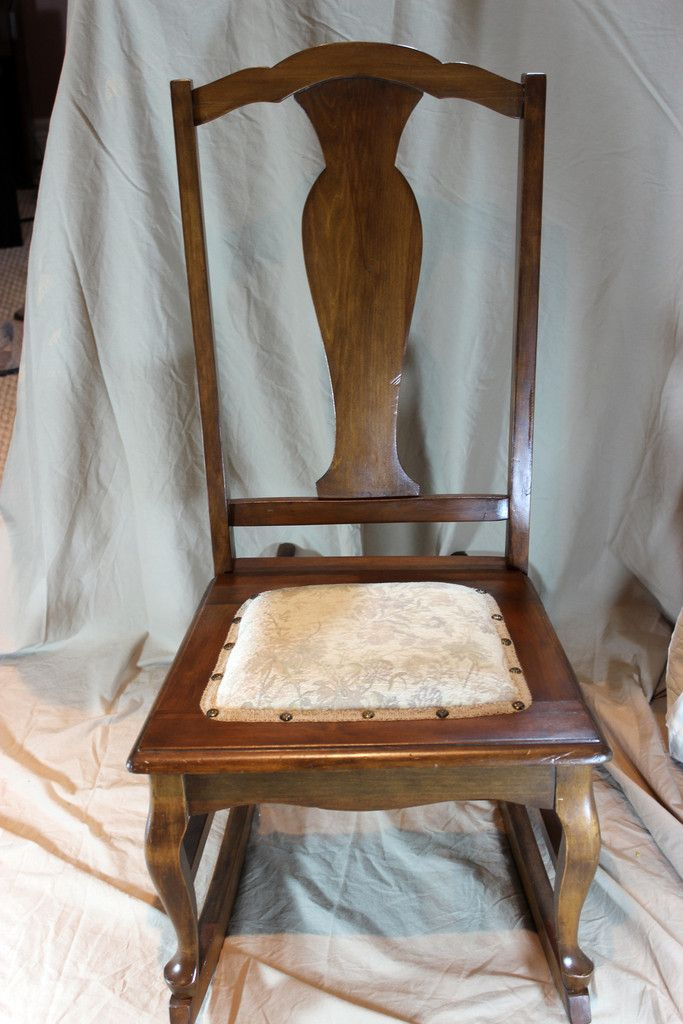 Small Antique Nursing/Sewing Rocker Circa1920's - Best 25+ Redone Chairs Ideas On Pinterest Refurbished Dining