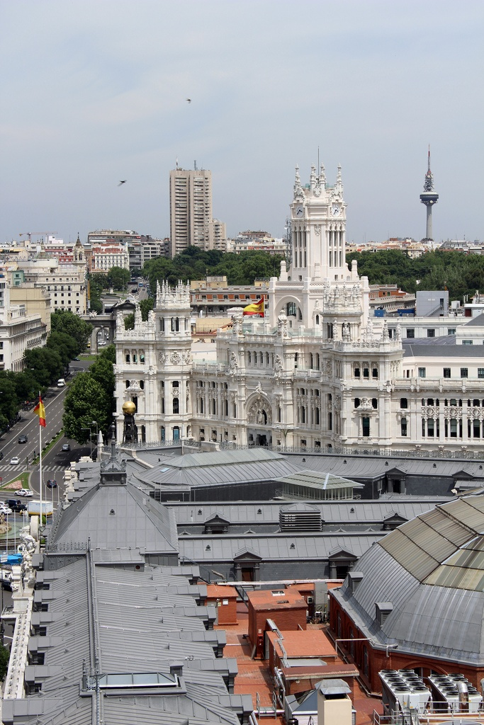 """Ch. 19: After I had been in France for quite a while, I had received a letter from Brett """"COULD YOU COME HOTEL MONTANA MADRID AM RATHER IN TROUBLE BRETT"""" I coaxed myself into coming to her rescue. Finding myself at the Norte Station in Madrid, where all lines end, I knew everything was coming to an end."""