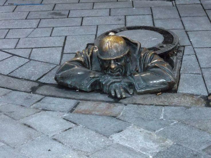 Spectacular presences on the streets of Bratislava