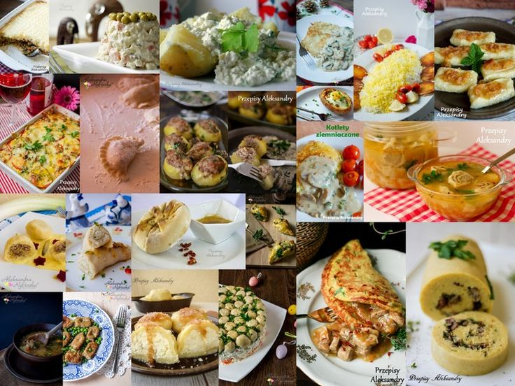22 the best recipes with potatoes / 22 najlepsze potrawy z ziemniakami