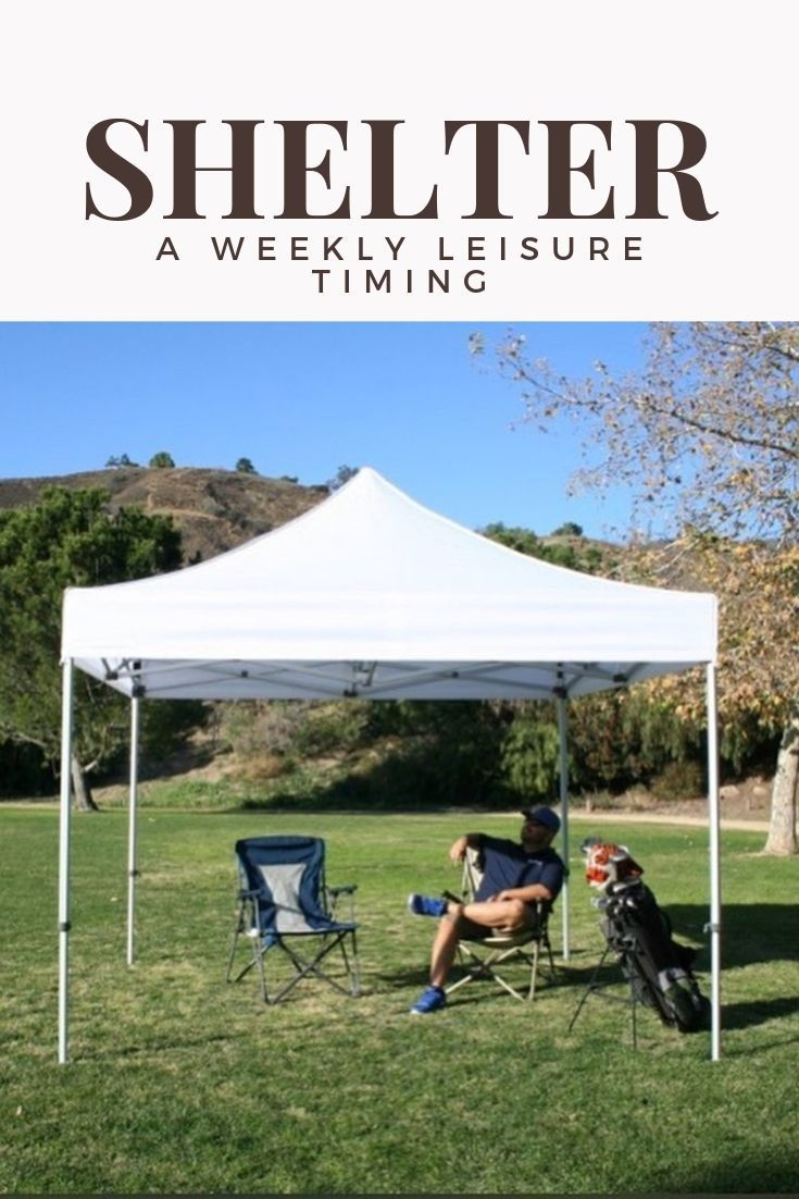 10 X 10 Upgraded Waterproof Pop Up Canopy With No Sides White