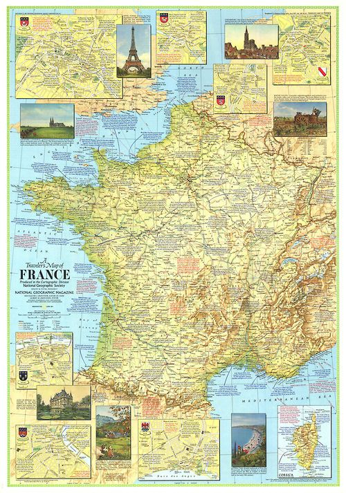 31 best Inspirational maps images on Pinterest Maps, Cards and History - new air france world map flight routes c.1948