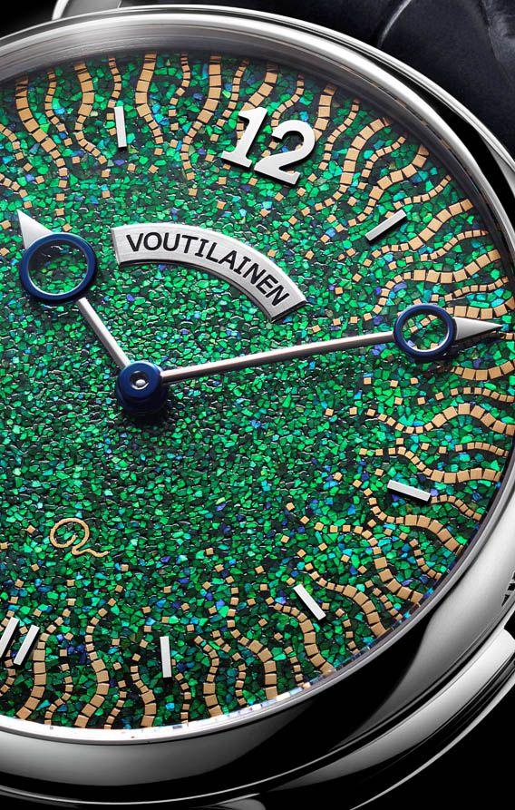 Voutilainen Hisui Watch dial detail