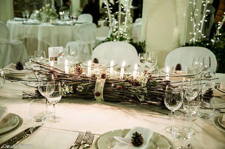 Matrimonio Tema Invernale : Centrotavola per un romanatico matrimonio invernale