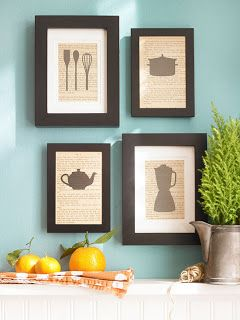 Culinary-inspired twist for a kitchen wall