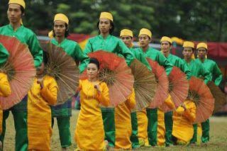 Tarian Payung,Sumatera Barat #PINdonesia