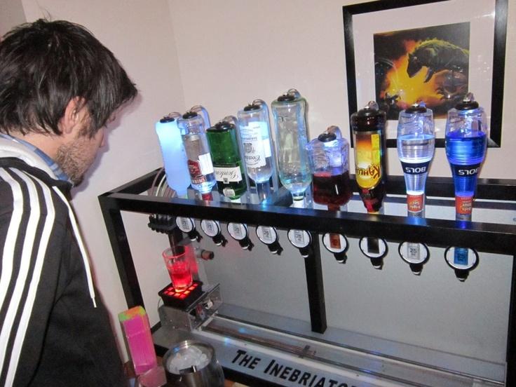 The Inebriator - Arduino powered cocktail machine