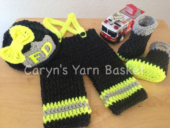 1000+ images about Crochet Baby Fireman on Pinterest ...