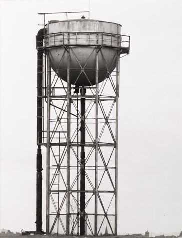 "Bernd and Hilla Becher, ""(Water Tower, ca 1920, Liege, Belgium), from the portfolio Industriebauten (Industrial Buildings)"" (1968) 
