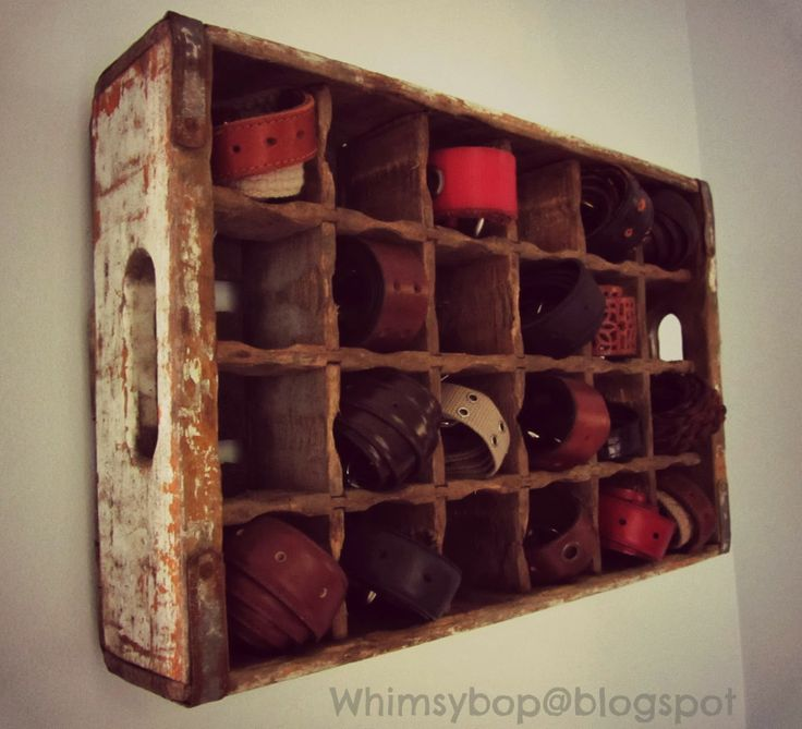 decorating with old crates - Google Search