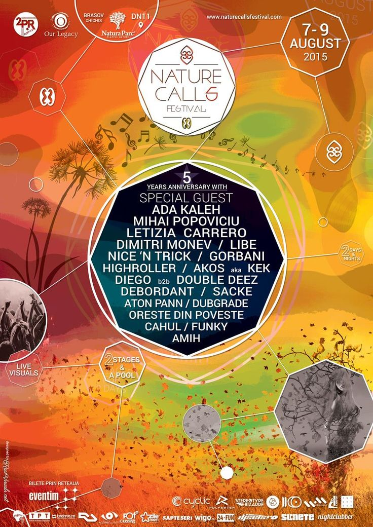 Prepare for a weekend in Paradise @ Nature Calls ★ 5 Years Anniversary ★ 7-9 AUG 2015