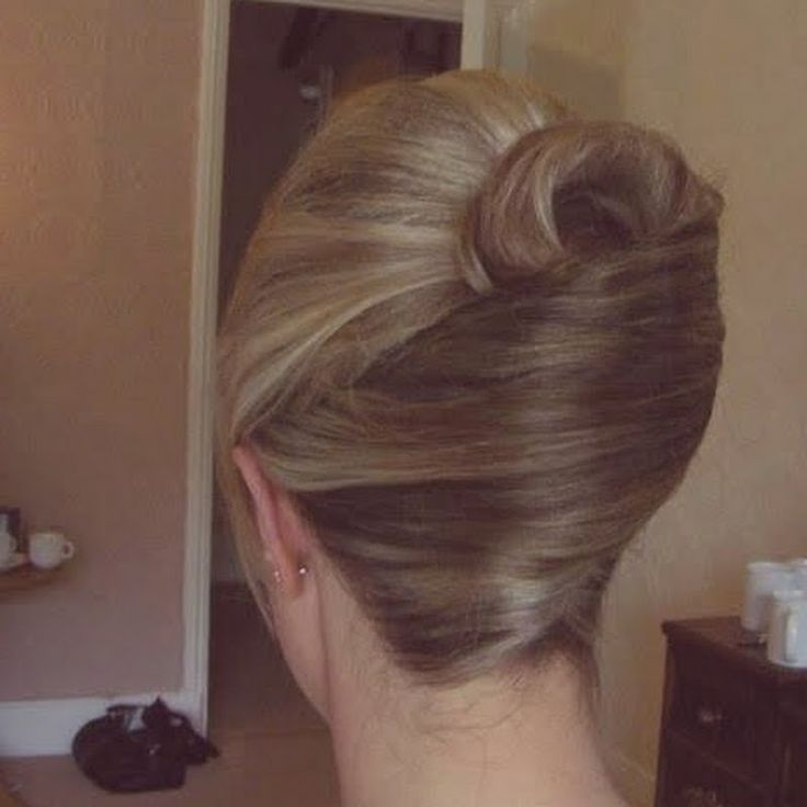 You can never go wrong with a clean, classic updo.