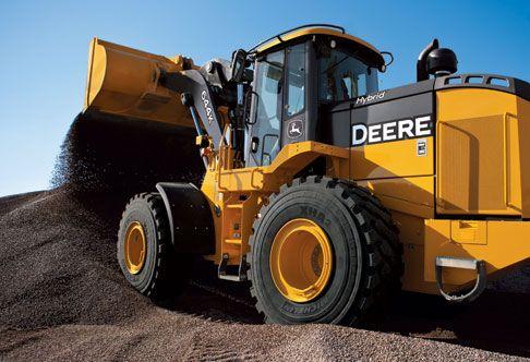 John Deere 644K: Deere's First Hybrid Construction Machine http://blog.machinefinder.com/12041/john-deere-644k-deeres-first-hybrid-construction-machine