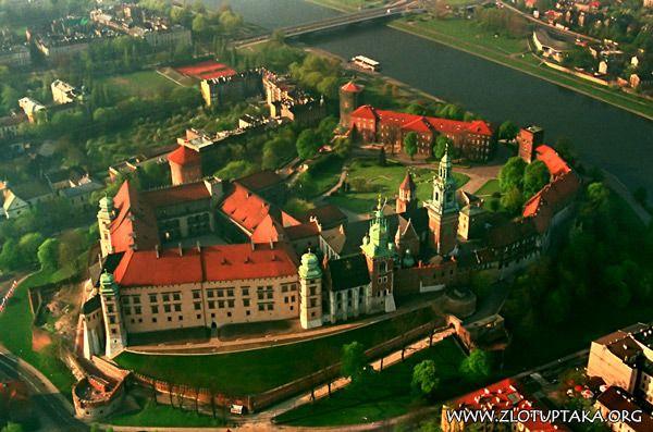 Kraków - wzgórze wawelskie