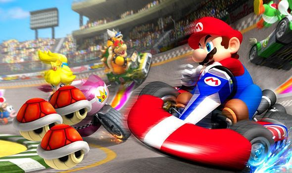 Mario Kart Mario Kart Mario Blockchain Game