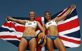 Team GB beach volleyball pairing for Games