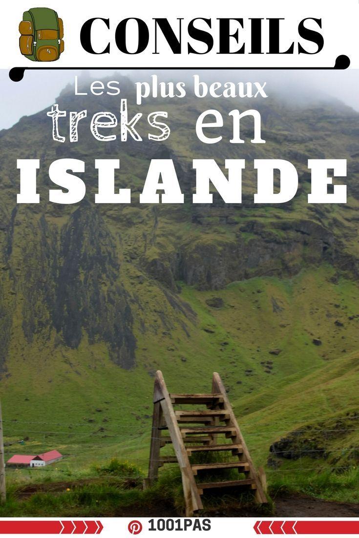 Conseils sur les plus belles randonnées à réaliser en Islande  #randonnées #trek #islande #aventure #marche