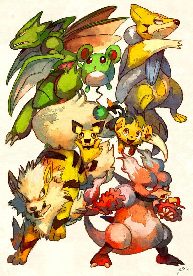 Shiny Pokemon Giveaway by bluekomadori on deviantART ...