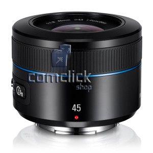 Lente Externa EX-S45ANB 45MM F1.8 Preta para Câmera ...