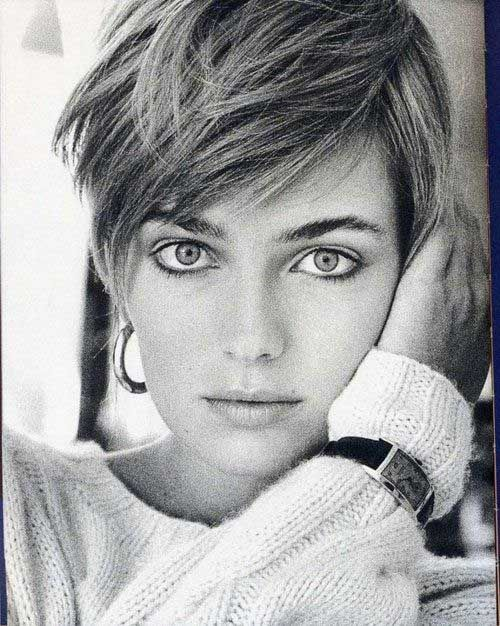 Short Straight Thick Hairstyles fr Girl
