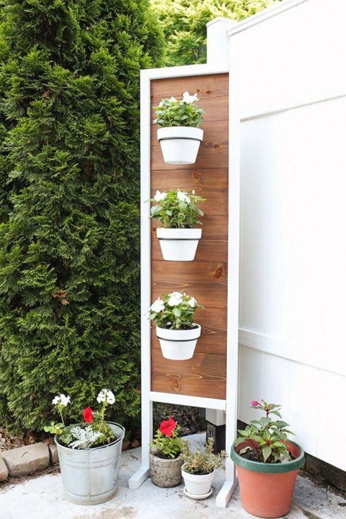 1001 Idees Pour Amenager Un Jardin Ou Potager Vertical Jardin En Hauteur Potager Vertical Jardins Verticaux