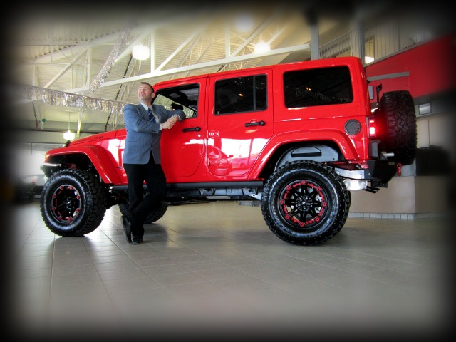 SOLD Modified 2013 Jeep Wrangler Unlimited In Rock