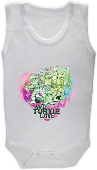 Ninja Kaplumbağalar - Love Kendin Tasarla - Bebek Zıbın