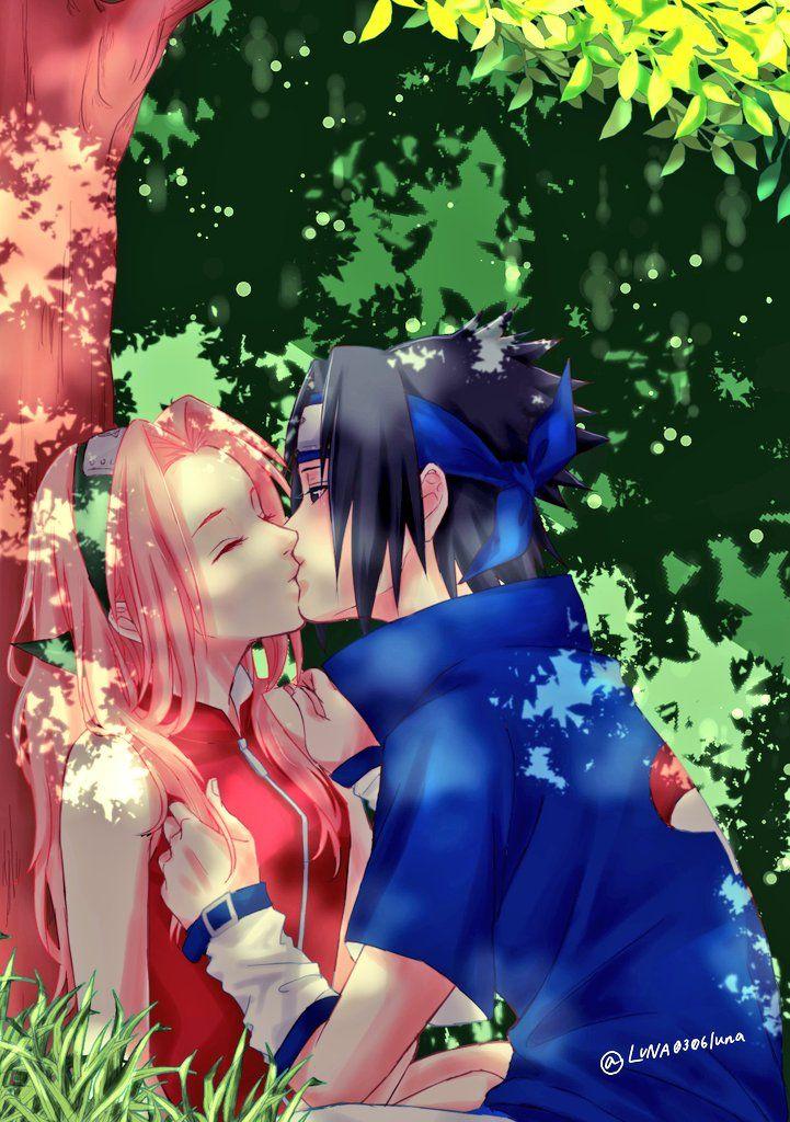 Naruto- Cadê o Sasuke e a Sakura? Kakashi- Eles …