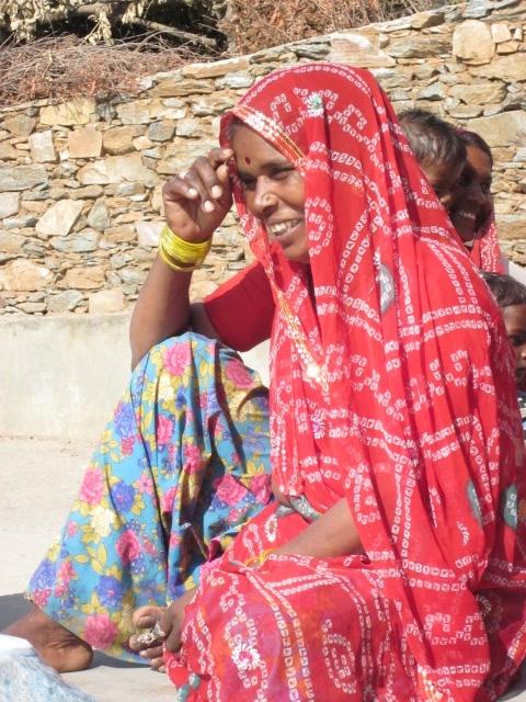 Sadhna woman. Udaipur.