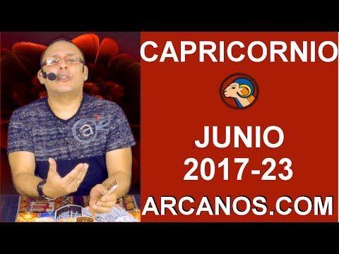 CAPRICORNIO JUNIO 2017-4 al 10 Jun 2017-Sexo Solteros Parejas Hacienda Trabajo-ARCANOS.COM - Tarot del Amor