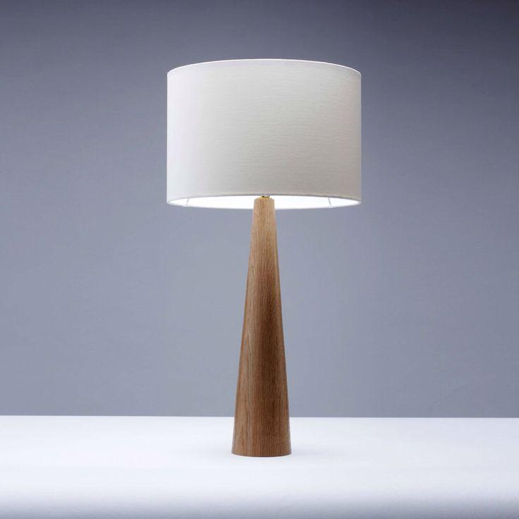 Handmade Oak Wooden table lamp - 45cm by homeandkitchen on Etsy https://www.etsy.com/listing/177921535/handmade-oak-wooden-table-lamp-45cm