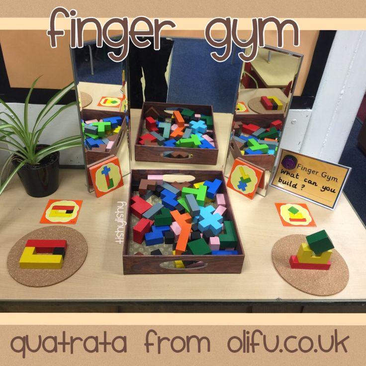 Quatrata finger gym