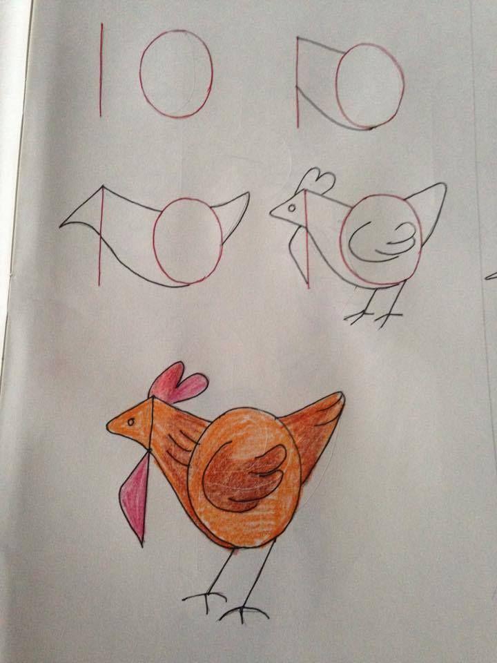 Leer+je+kinderen+tekenen.+De+gaafste+tekeningen+die+met+nummers+beginnen!+Goed+voor+de+ontwikkeling!