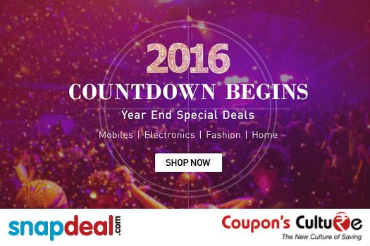 #‎Snapdeal‬ Year end special deals on Mobiles, Electronics, Fashion, Home, Daily Needs and more. ‪#‎Shop‬ Now