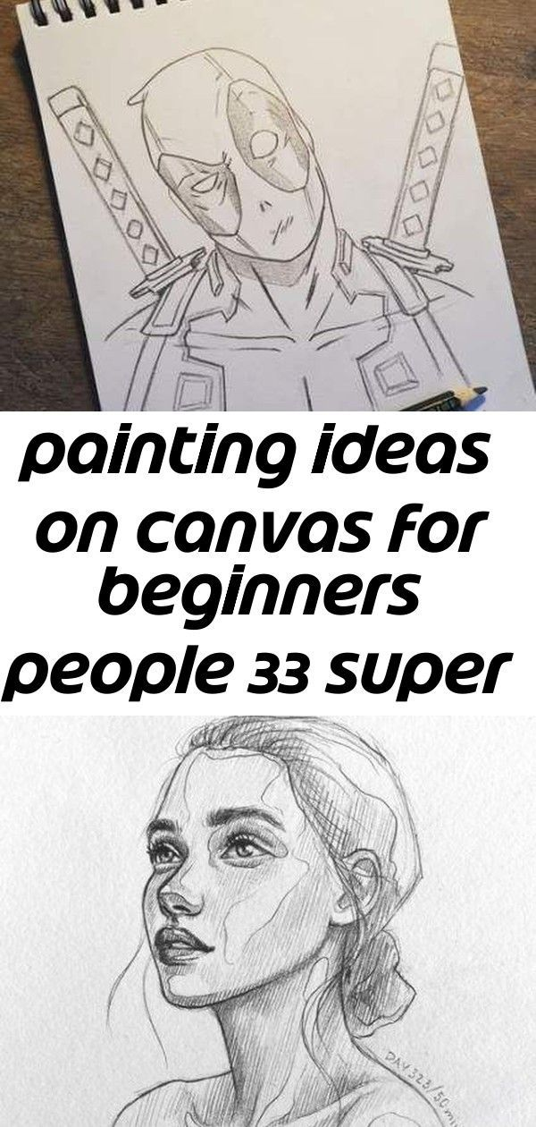 Painting Ideas On Canvas For Beginners People 33 Super Ideas 2