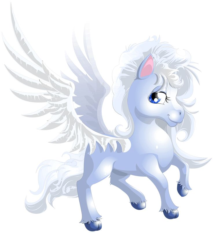 Cute Unicorn Transparent PNG Clipart