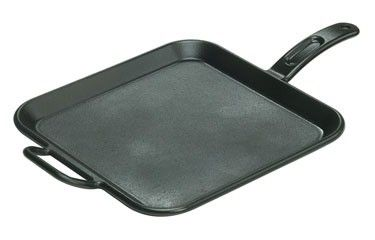 """Lodge Cast Iron 12"""" Square Griddle  P12SG3 by Lodge Cast Iron  for $24.99 in Housewares : Rural King"""