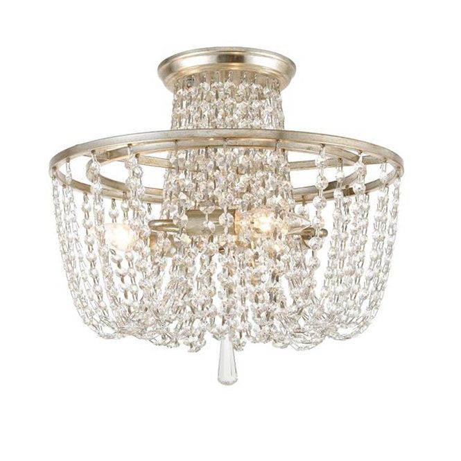 Shimmering Crystal Ceiling Light Crystal Ceiling Light Ceiling