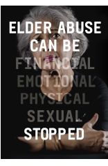 Around 1 in 20 older Australians are experiencing some sort of abuse from a person they know and trust. Phone 1800 372 310 for free confidential advice