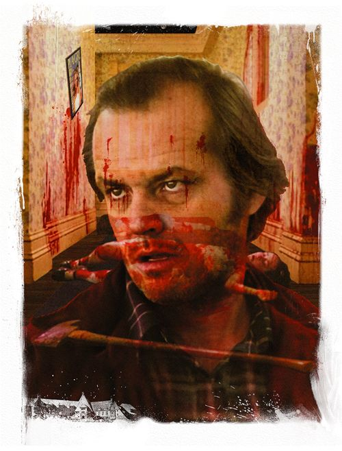 Room 237 by Ridge Rooms ...Stanley Kubrick's The Shining 1980 movie Jack Torrance to note