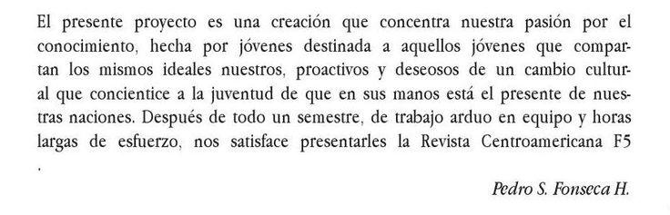 #ClippedOnIssuu from Revista Centroamericana F5