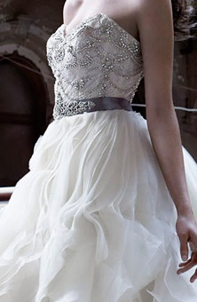 17 best images about wedding dresses on pinterest ball for Lazaro a line wedding dress